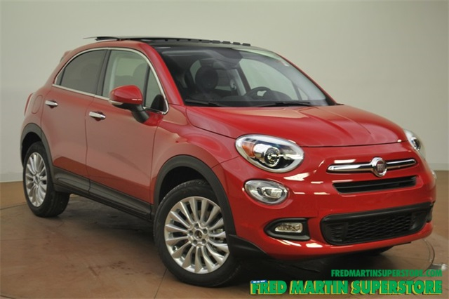 new 2016 fiat 500x lounge 4d sport utility in barberton 7f163610 fred martin superstore. Black Bedroom Furniture Sets. Home Design Ideas